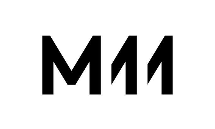 M11 Simple Logo Design