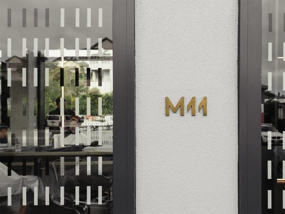 M11 Clean Logo Design