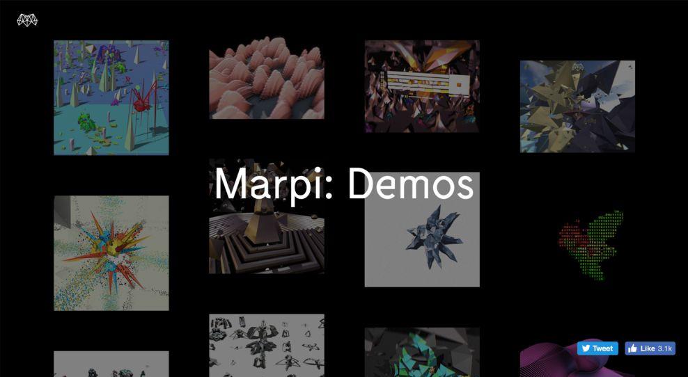 Marpi Studios Creative Homepage