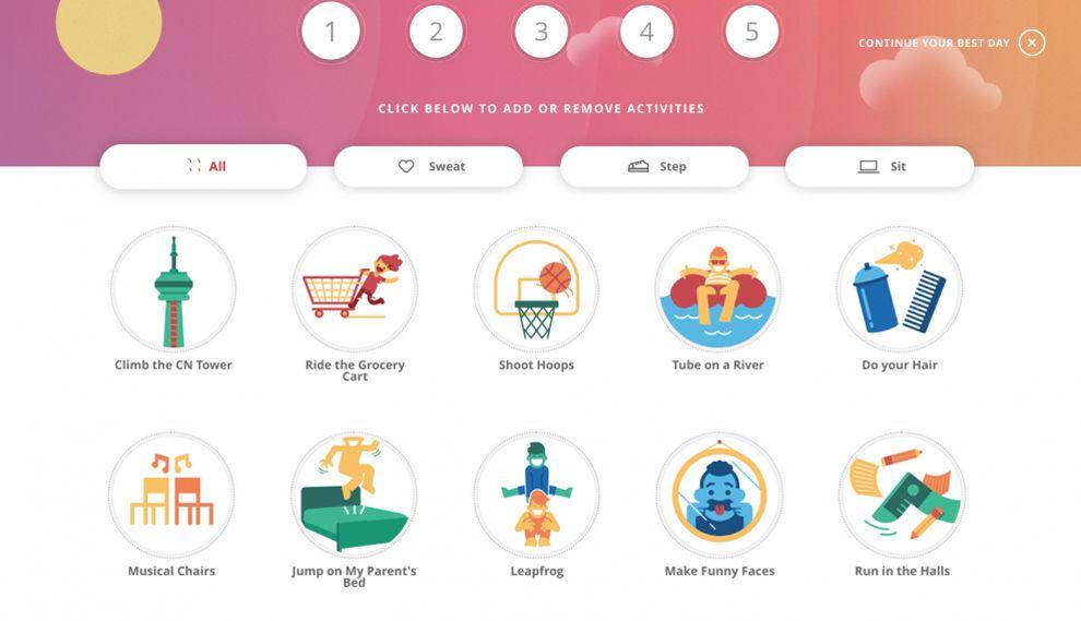 Build Your Best Day Playful Website Design