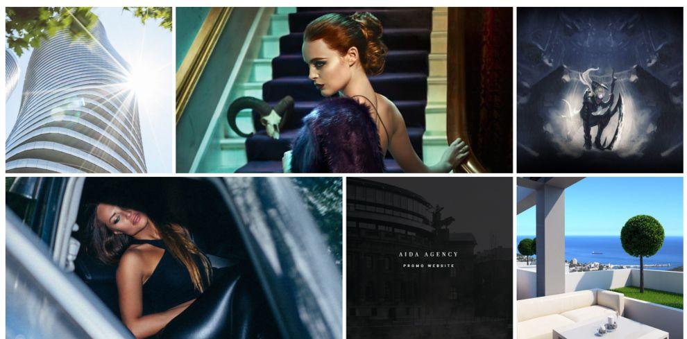 Boosted Elegant Gallery Design