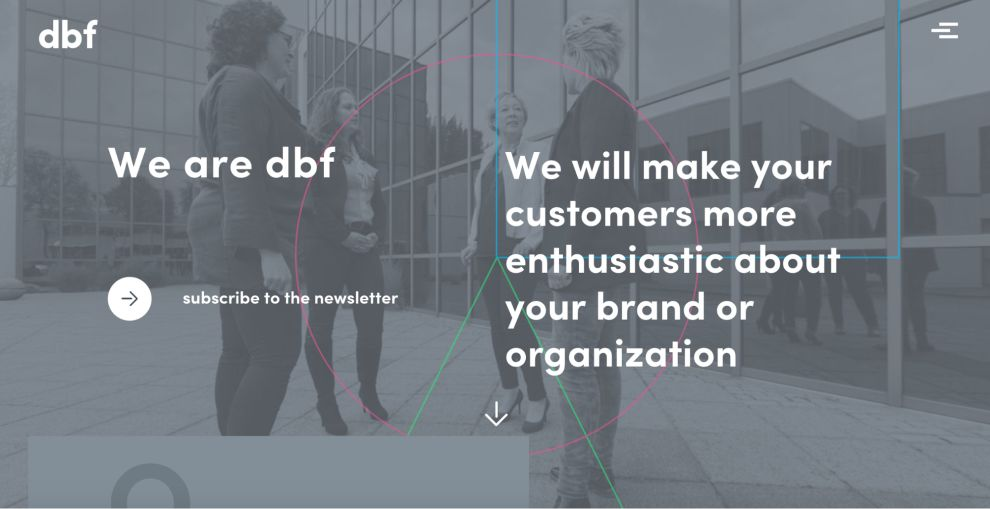 DBF Amazing Website Design