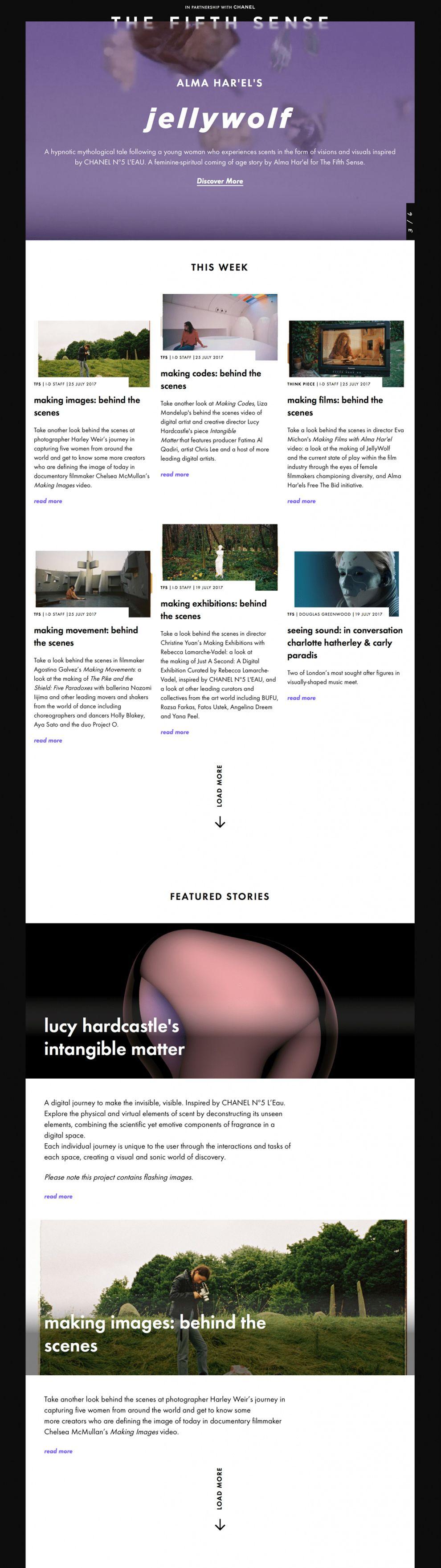 Vice i-D Great Website Design