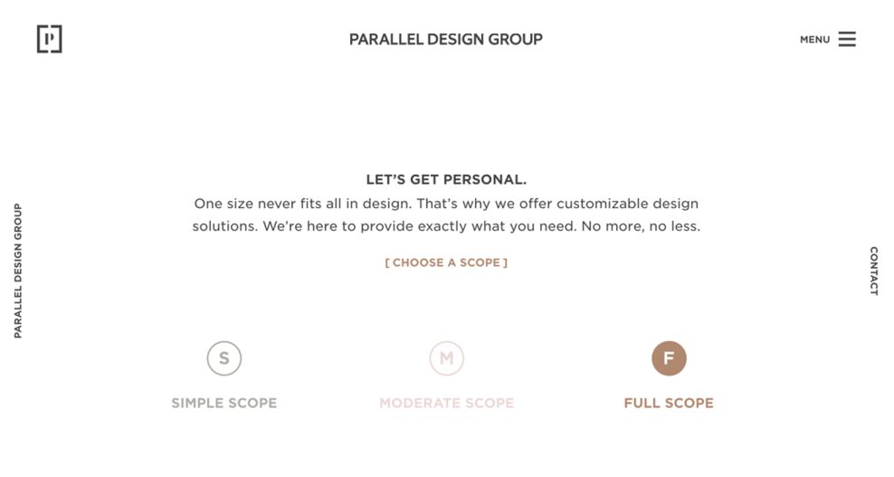 Parallel Design Group Clean About Page