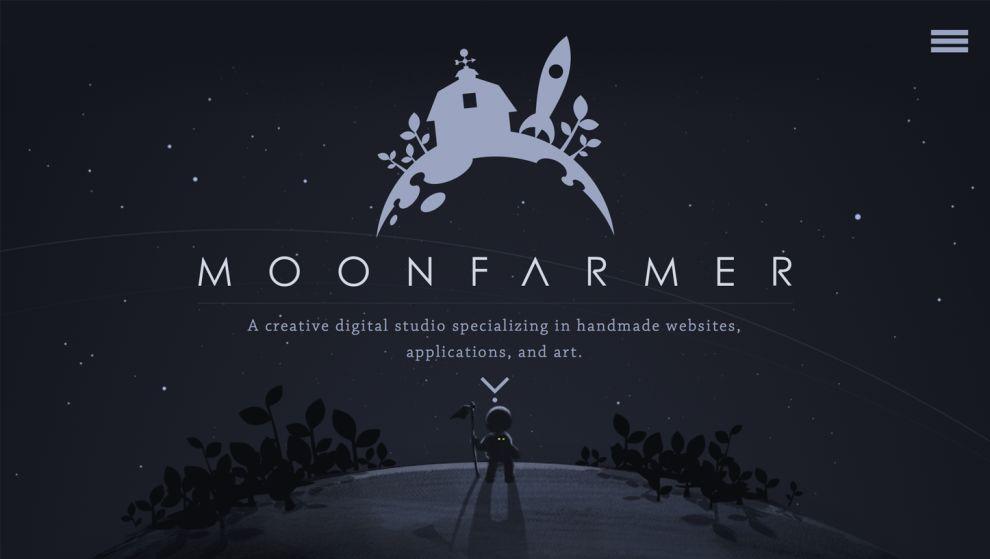 Moonfarmer Creative Homepage