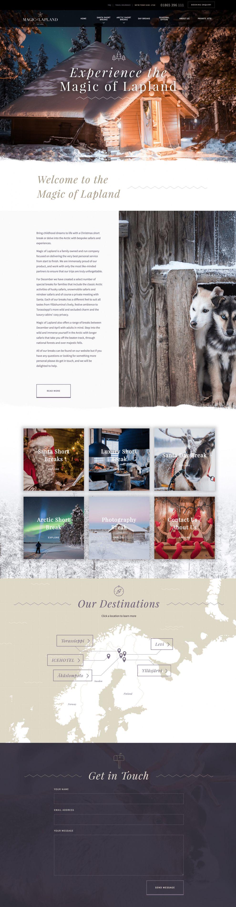 Magic Of Lapland Beautiful Homepage