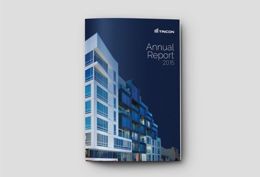Tricon Capital Corporate Print Design