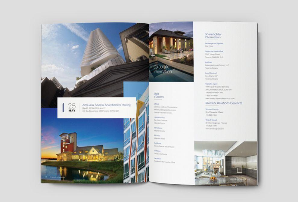 Tricon Capital Elegant Print Design