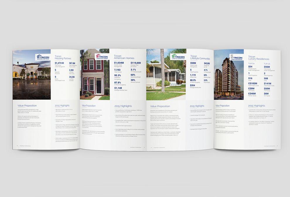 Tricon Capital Clean Print Design