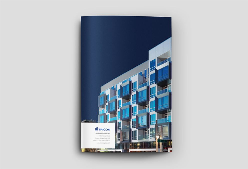 Tricon Capital Print Design