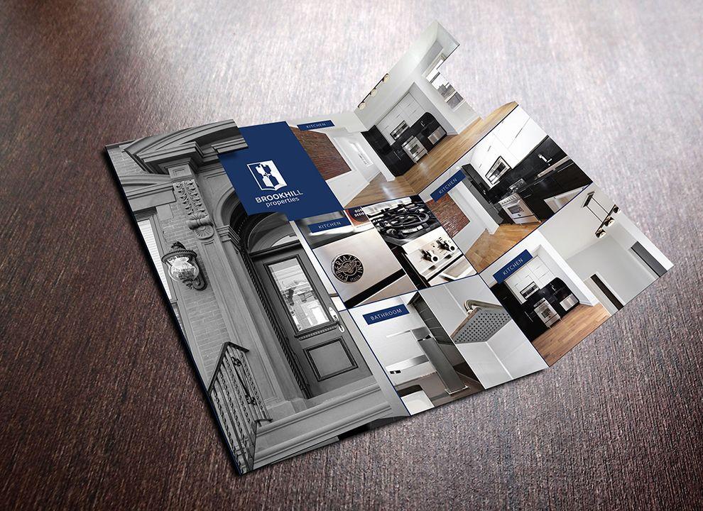 Brookhill Properties Corporate Print Design