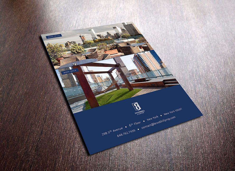 Brookhill Properties Print Design