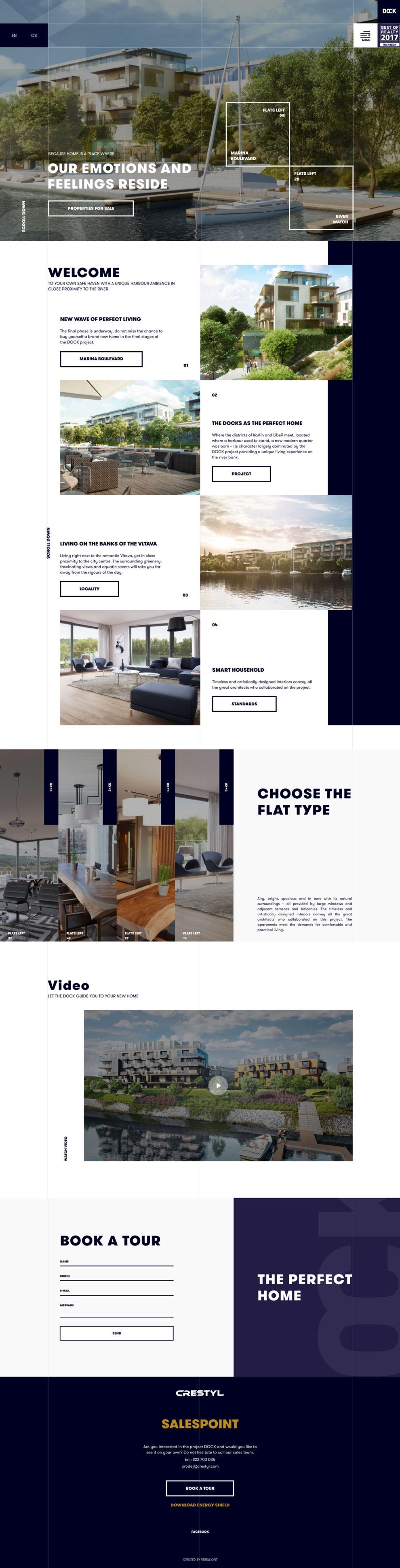 Dock Elegant Homepage