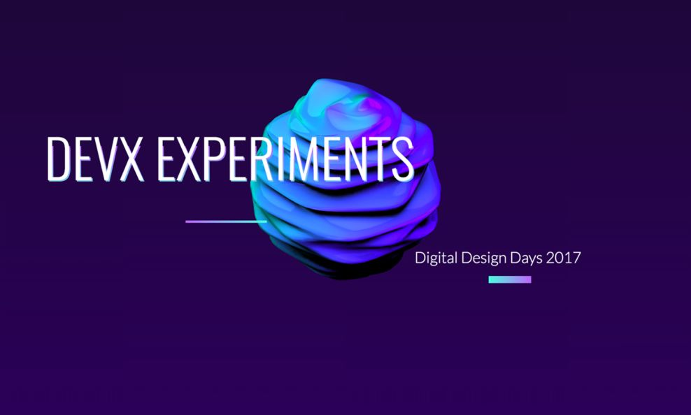 DEVX Experiments Awesome Homepage