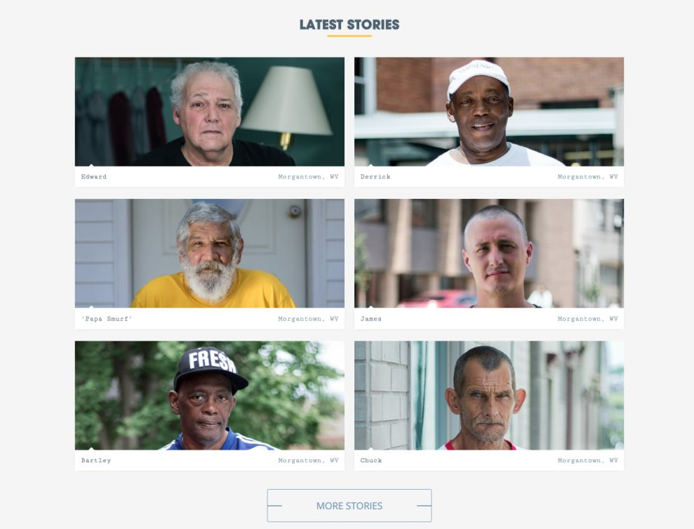 Face Of Homelessness Great Stories Page