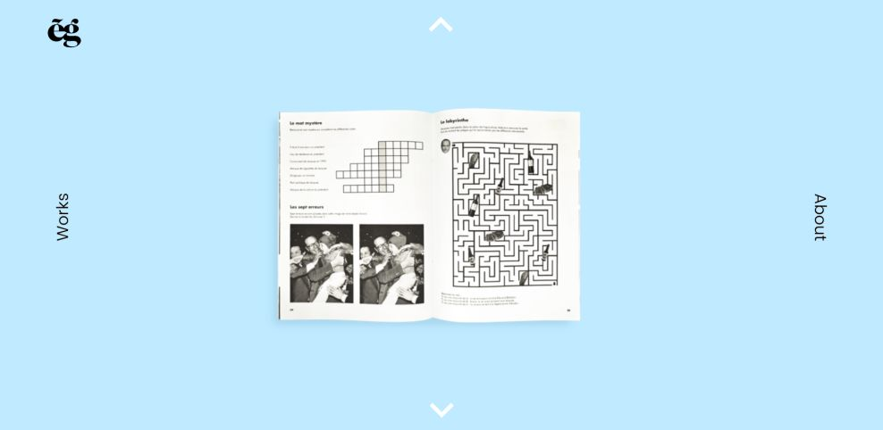 Etienne Godiard Colorful Website Design