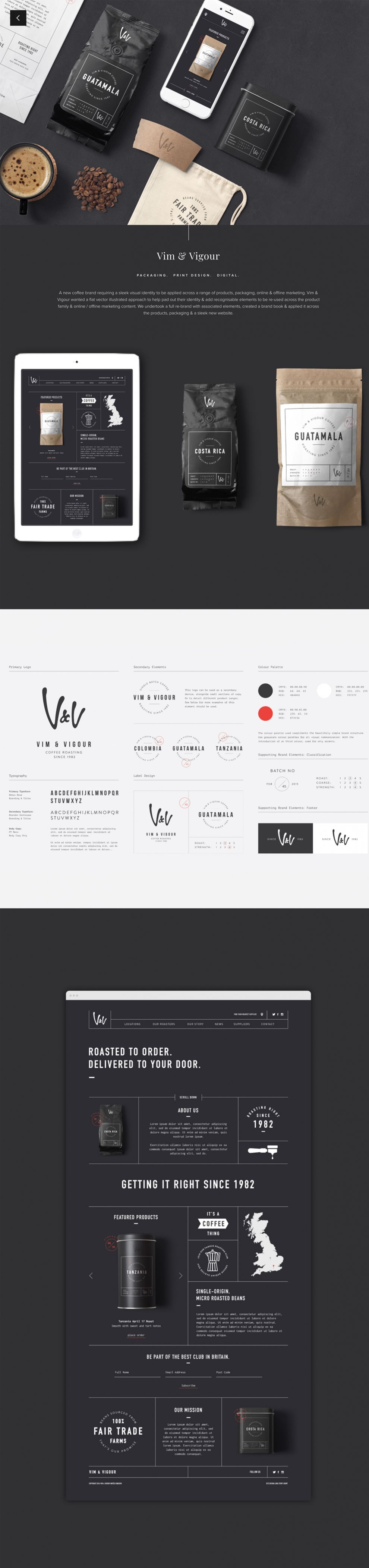 Long Story Short Design Clean About Page