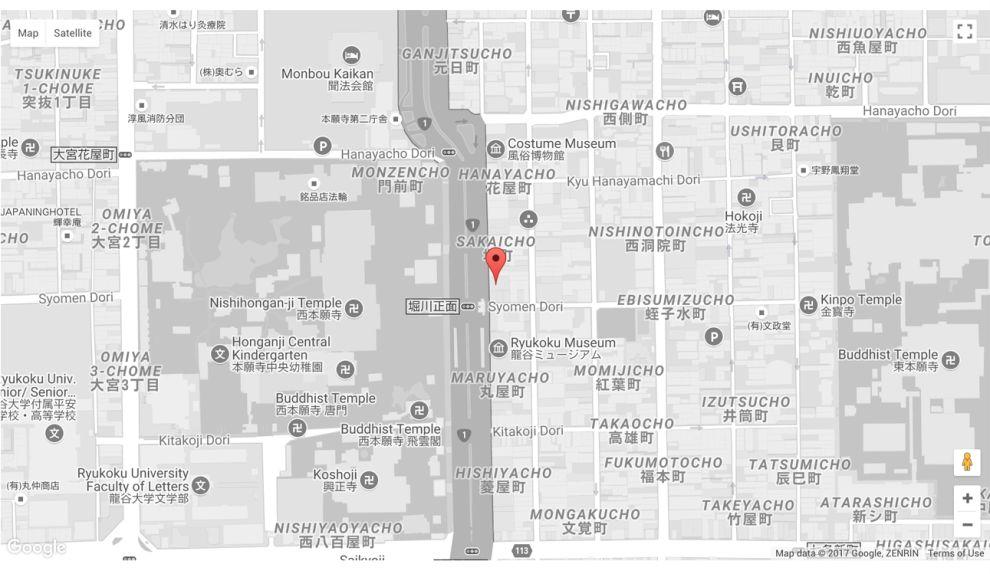 Kungyokudo Minimal Map Design