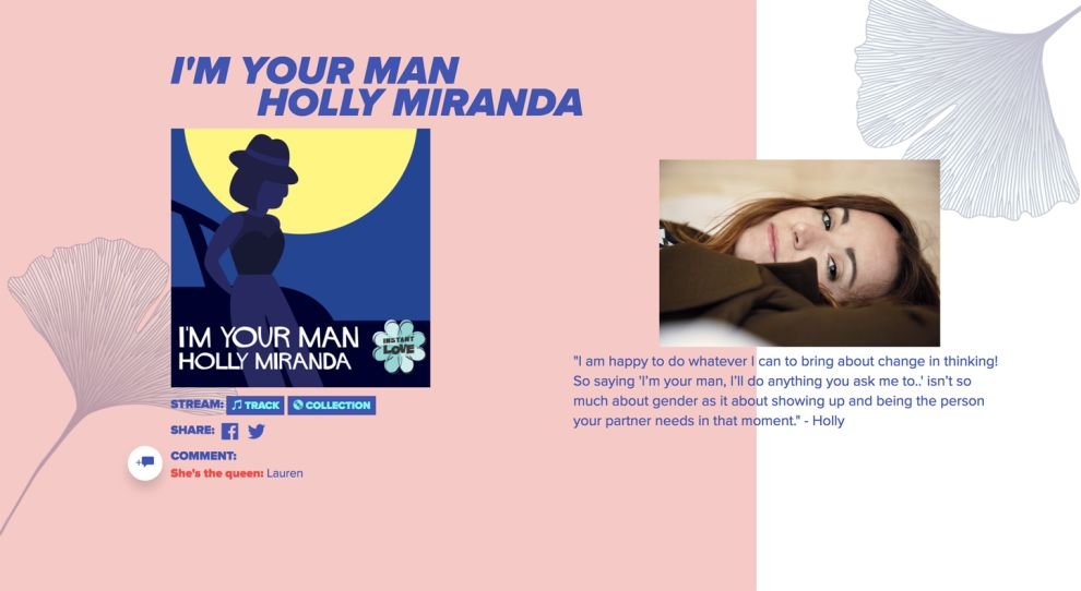 Instant Love Colorful Website Design