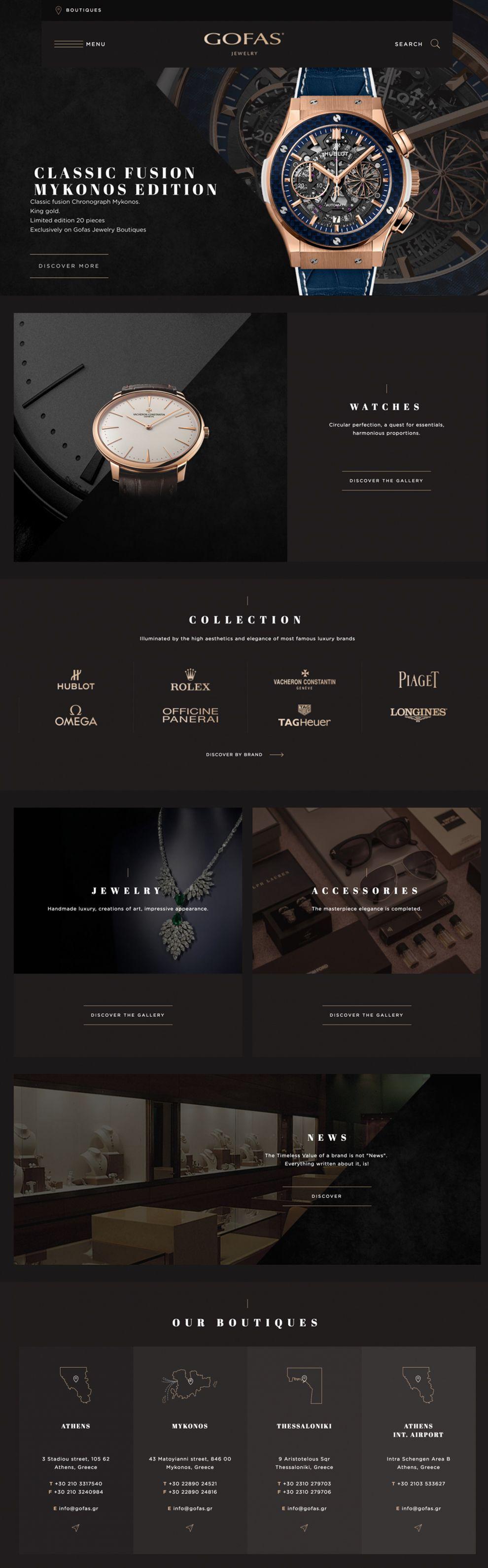 Gofas Beautiful Homepage