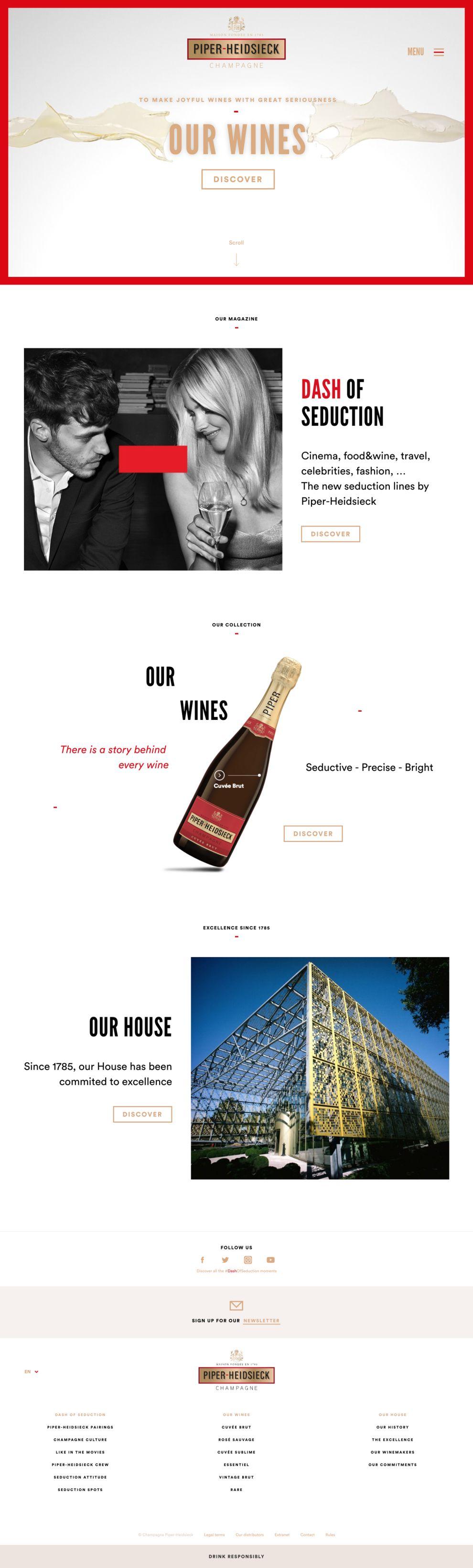 Piper-Heidsieck Awesome Homepage