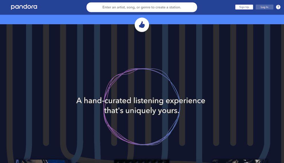 Pandora Awesome Website Design