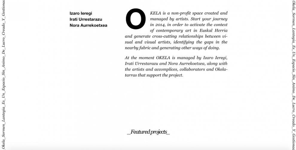 Okela Clean Website Design