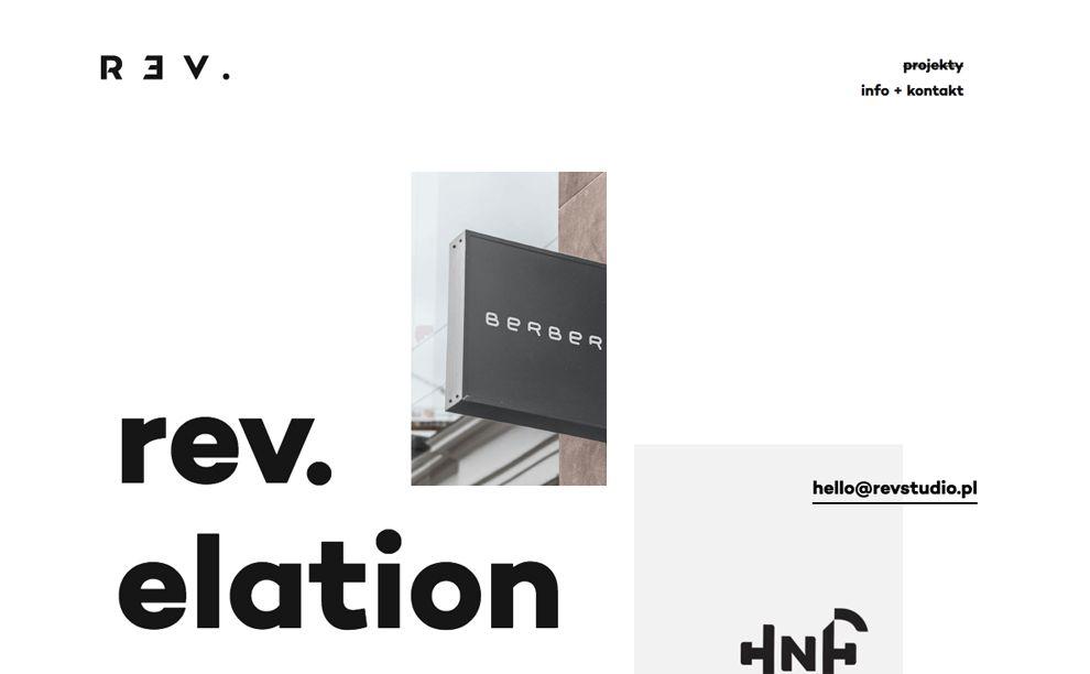 Revelation Minimal Homepage