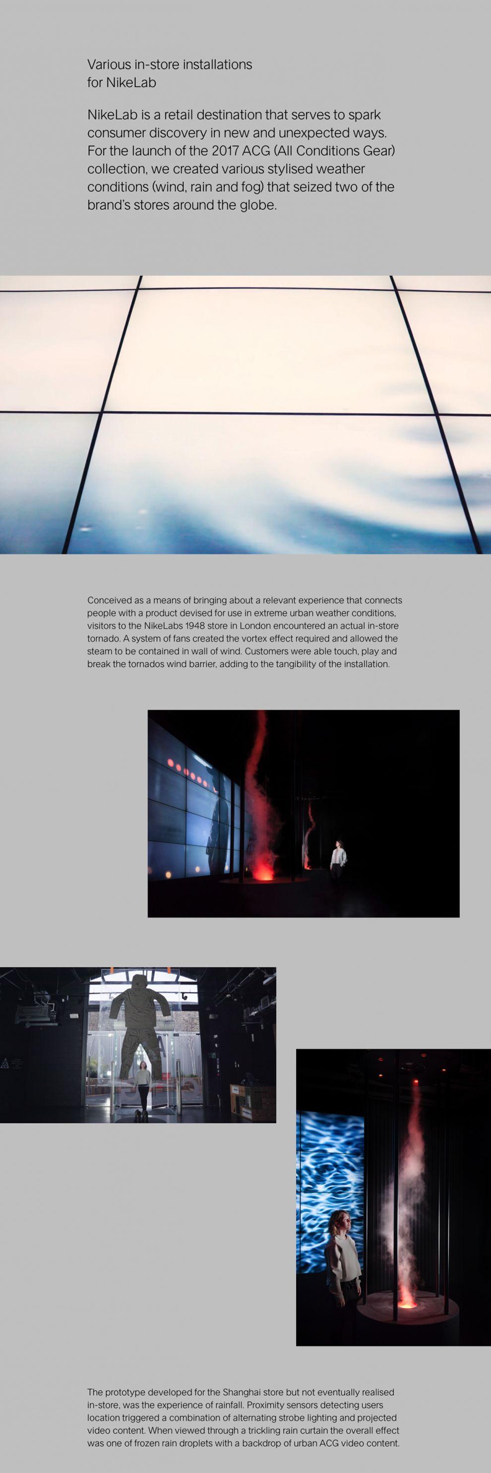 Random Studio Minimal Portfolio Page