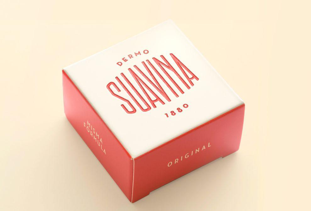 Suavina Retro Package Design