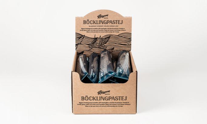 Biggans Böcklingpastej Fun Package Design