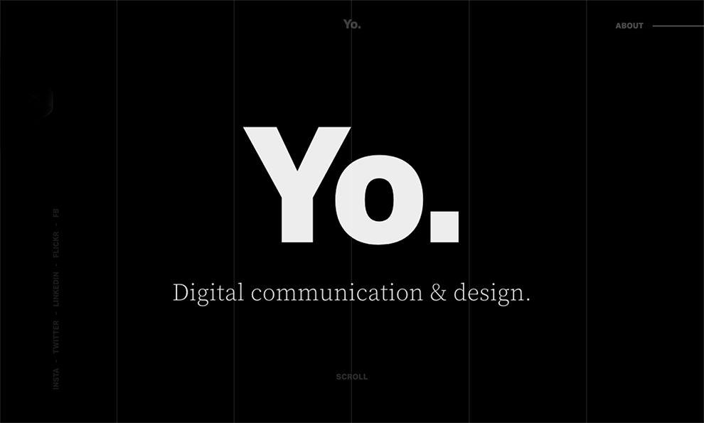 YHTBS Minimal Homepage