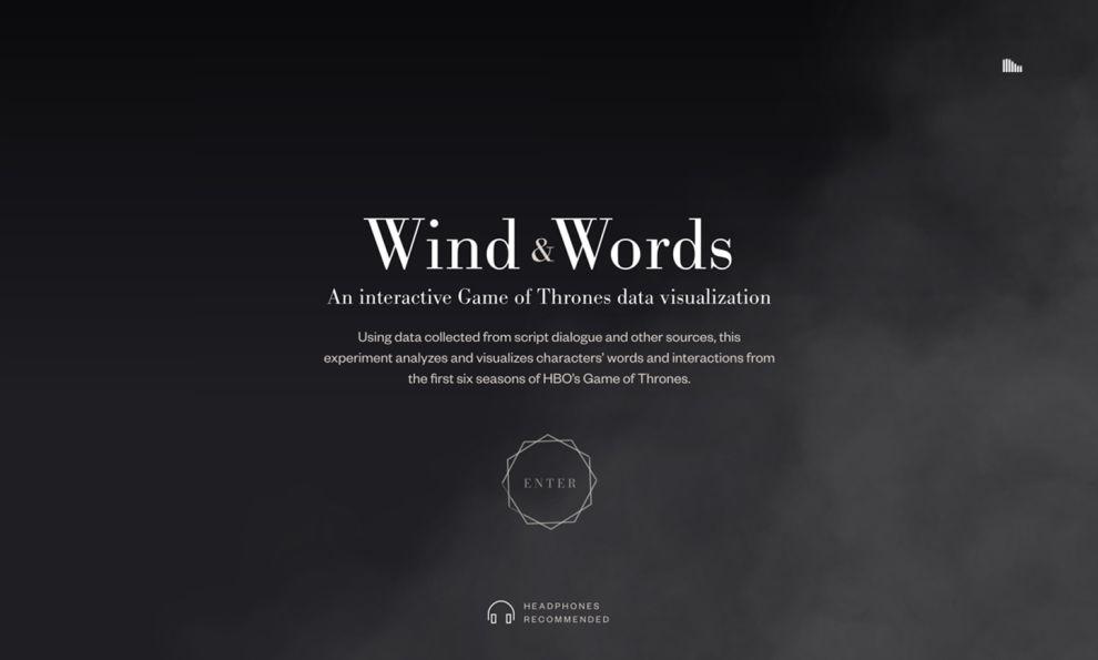 Wind & Words Amazing Homepage