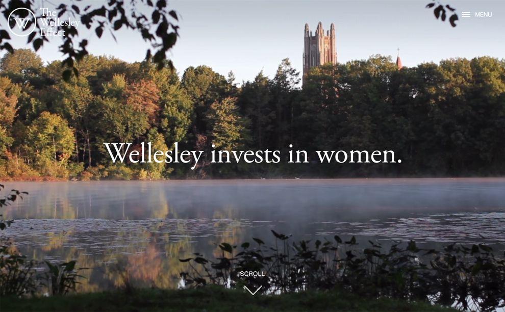 Wellesley Elegant Homepage