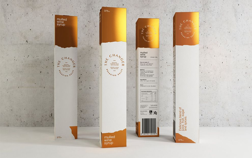 The Changer Package Design