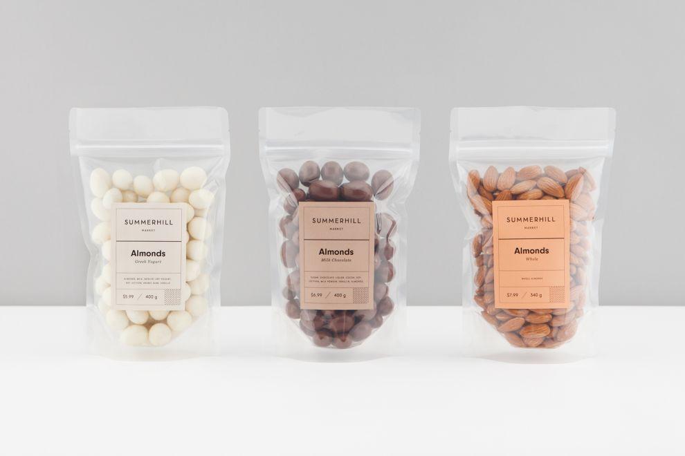 Summerhill Market Clean Package Design