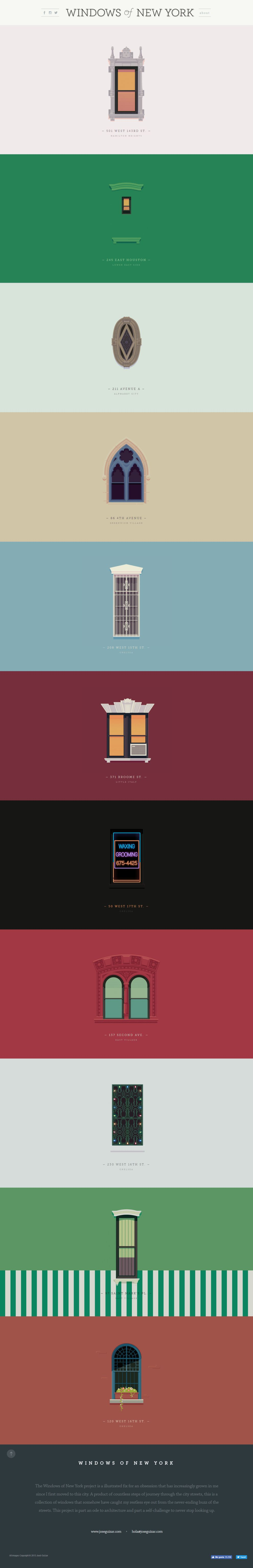 Windows of New York Gorgeous Website Design