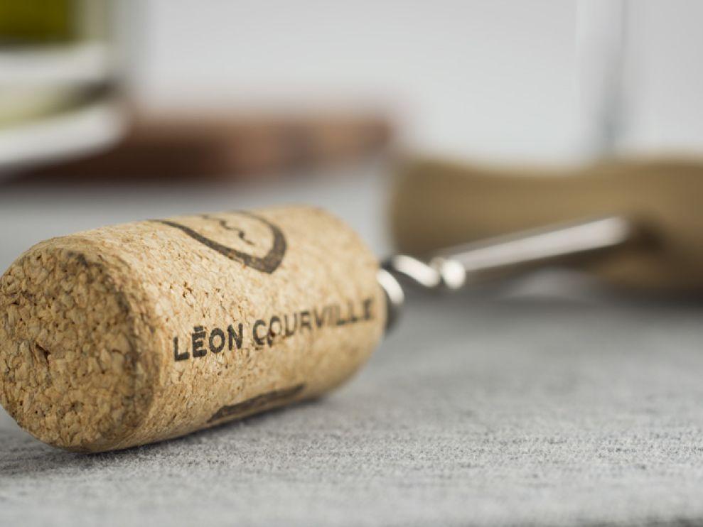 Léon Courville Vigneron Package Design