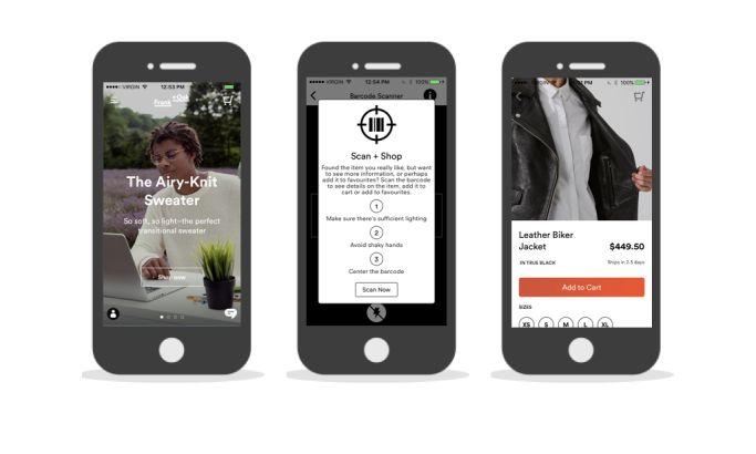Frank + Oak Cool App Design