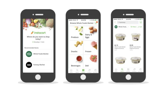 Instacart Intuitive App Design