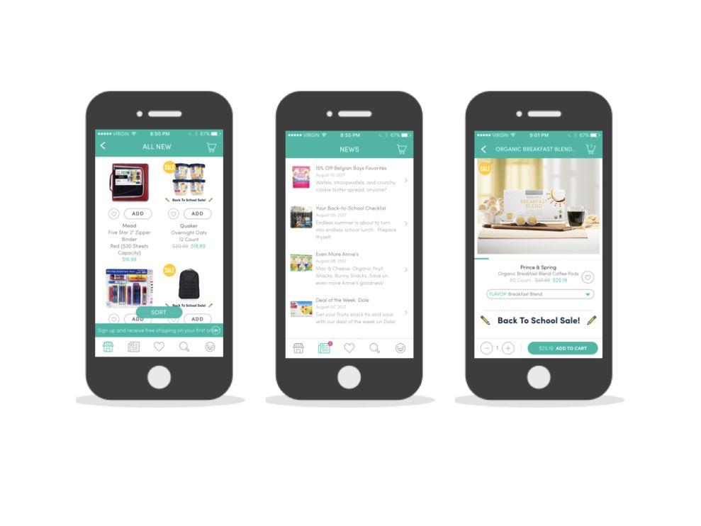 Boxed Cool App Design