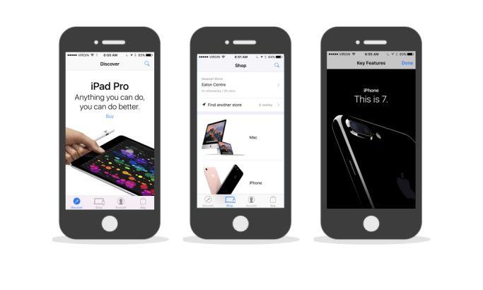 Apple Minimalist App Design