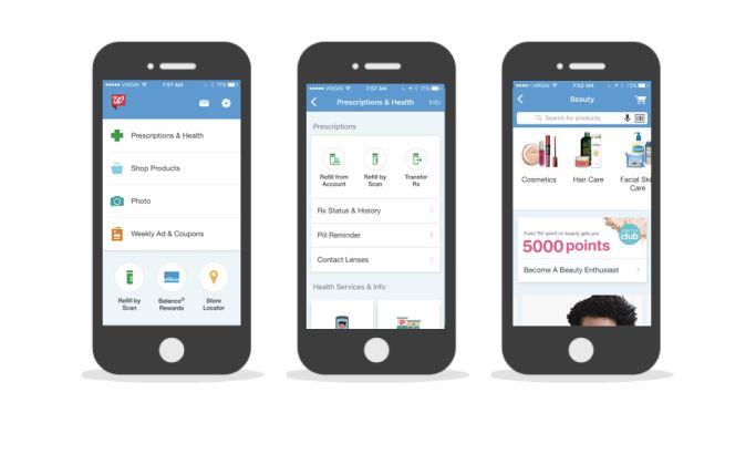 Walgreens User-Friendly App Design