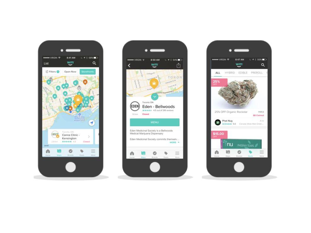 Weedmaps Awesome App Design