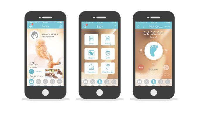 Pregnancy + Cool App Design