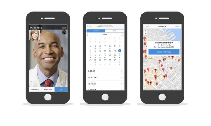 dr. on demand Minimal App Design