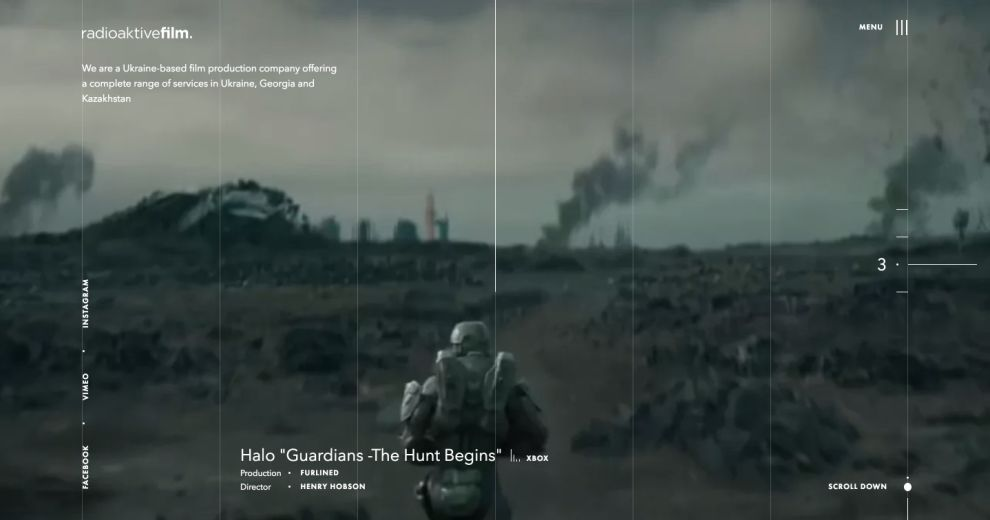 Radioaktive Film Amazing Homepage
