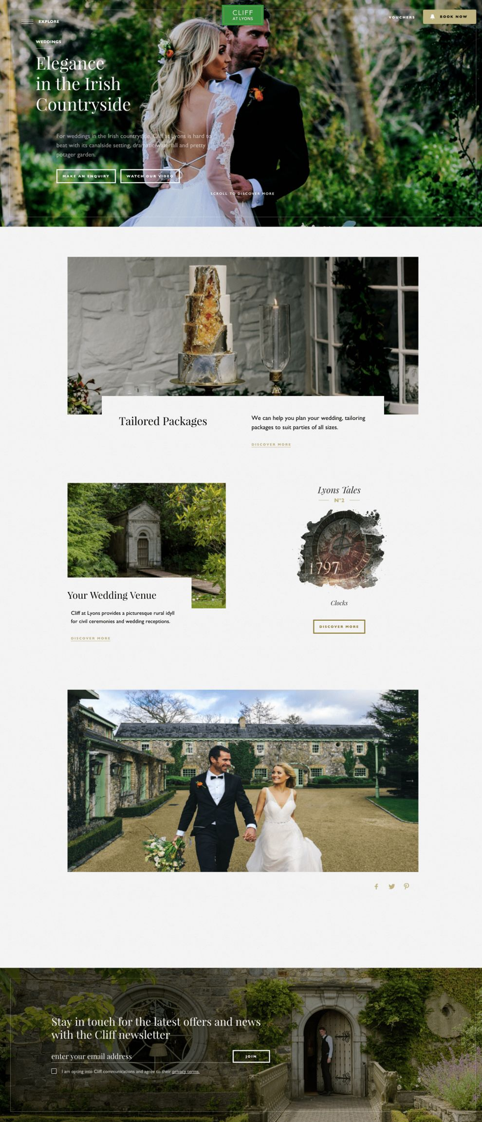 Cliff at Lyons Great Website Design