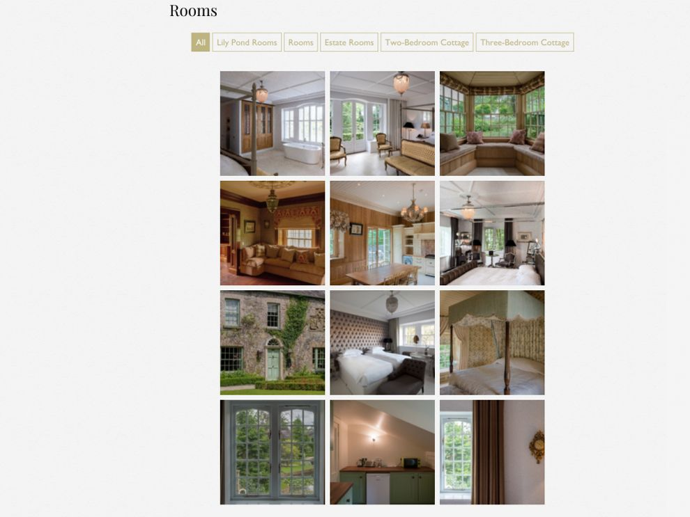 Cliff at Lyons Great Gallery Page Design