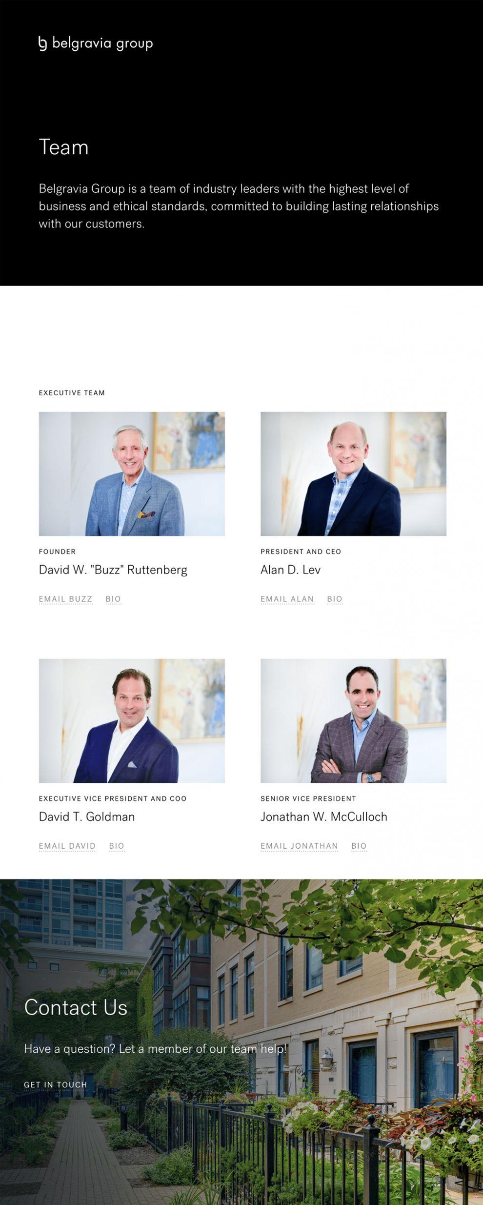 Belgravia Group Great Website Design